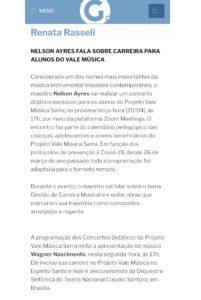 Coluna Renata Rasseli de A Gazeta - 19.04,2021