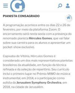 Coluna Renata Rasseli de A Gazeta - 25.01.2021