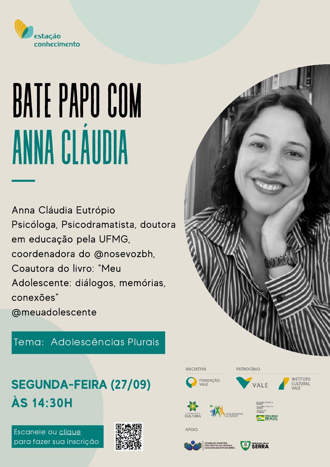 """Estação Conhecimento convida psicóloga para discutir """"adolescências plurais"""""""